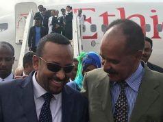 Ethiopia and Eritrea declare end of war