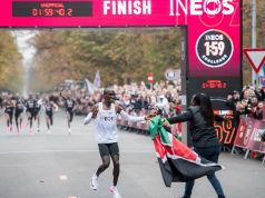 Eliud Kipchoge breaks marathon record