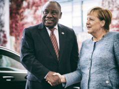 Cyril Ramaphosa hails Germany-South Africa relations