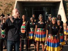South African choir urging for calm in the fight against coronavirus
