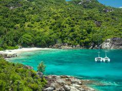 Beautiful hiking trails of Seychelles