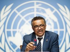 African leaders stand in solidarity with WHO chief
