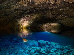 Dragon's Breath Cave: Namibia has the worlds largest underground lake
