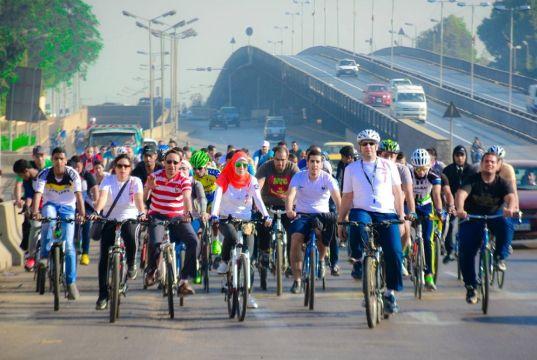Bike-sharing scheme in Cairo