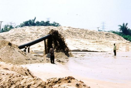 Lagos warned against sand filling in lagoons