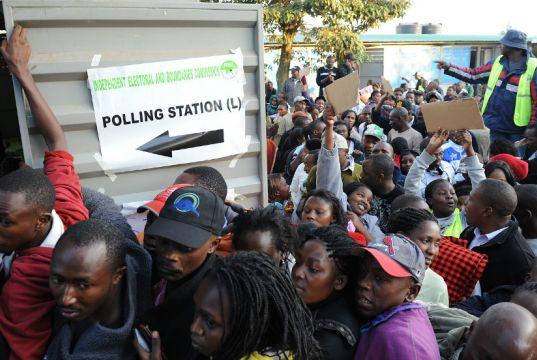 Tensions high as Kenya prepares for presidential re-election