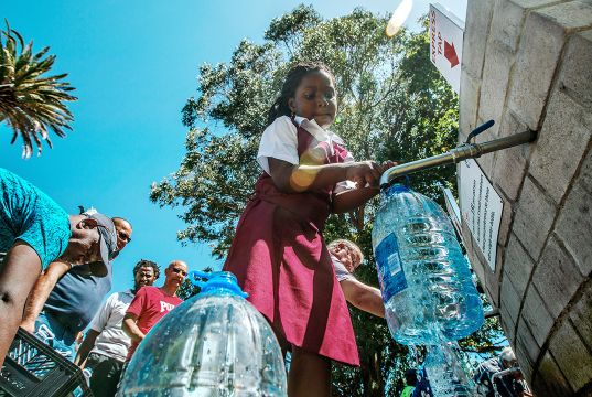 Further water restrictions in Cape Town
