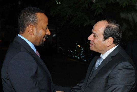 Ethiopia's Abiy Ahmed swears to protect Egypt's interest in the Nile