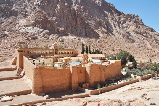 A brief history of St Catherine's Monastery