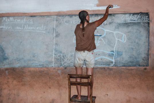 Why is Ghana a popular volunteer destination?
