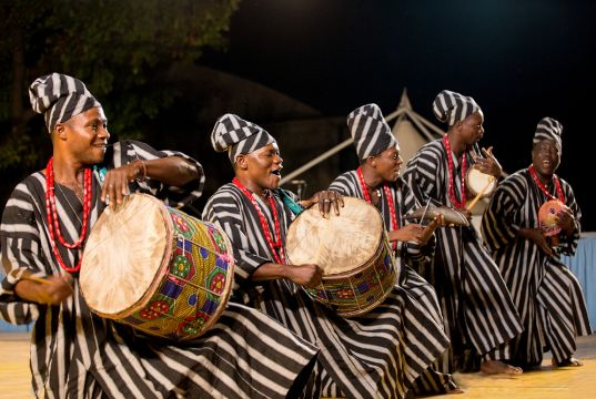 Traditional African musical instruments