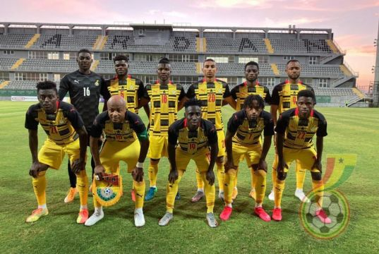 Ghana pulls off a decisive 5:1 win over Qatar in friendly