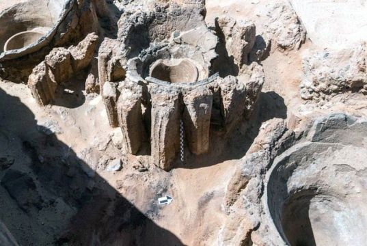 World's oldest beer factory uncovered in Egypt