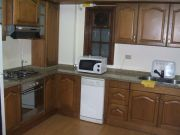Three bedroom furnished ground floor for rent with private garden