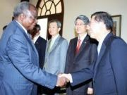 South Korean strengthens ties with Kenya