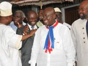 Ghana presidential candidates pledge peace