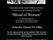 Screening of Blood of Women