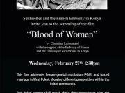 Screening of Blood of Women