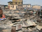 Calls to rebuild Ifelodun market