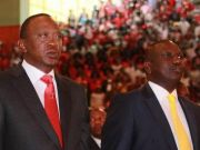 Kenyatta sworn in as Kenyan president