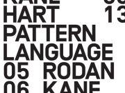 Pattern Language by Rodan Kane Hart