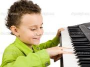 Piano lesson vcd for children
