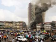 Lagos building collapse kills five