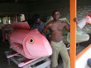 Coffins in Ghana