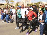 First Lady half marathon