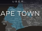 Uber taxis expand in Cape Town