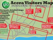 New city map of Accra