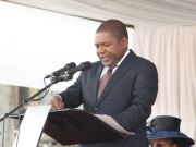 Mozambican president sworn in
