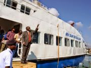 New ferry between Dar es Salaam and Bagamoyo