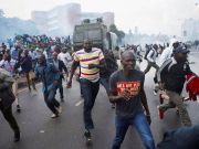 Nairobi electoral protest turns violent