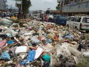 Protest causes rubbish to pile up in Addis Ababa
