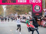 Eliud Kipchoge breaks marathon record