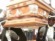Ghana's dancing pallbearers up for best meme of 2020 with their 'coffin dance'