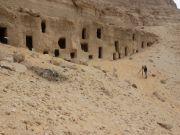 Ancient rock-cut burial graves at the Al-Hamidiyah necropolis go back 4,200 years.