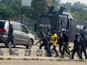 Nigeria's 'Democracy Day' marked with protests and tear gas rounds
