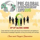 Pre-global Entrepreneurship Expo 2015